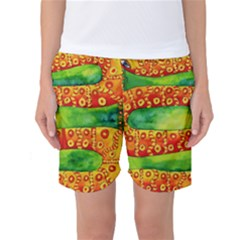Patterned Snake Women s Basketball Shorts