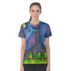 Patterned Rhino Women s Cotton Tees
