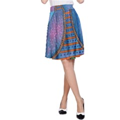 Patterned Rhino A-Line Skirts
