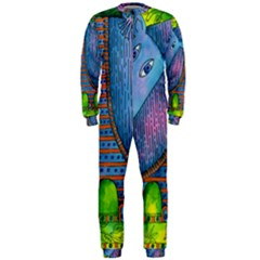 Patterned Rhino OnePiece Jumpsuit (Men)