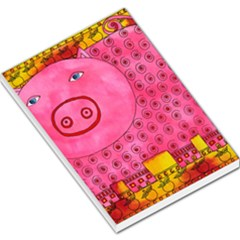 Patterned Pig Large Memo Pads
