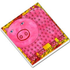 Patterned Pig Small Memo Pads