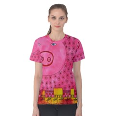 Patterned Pig Women s Cotton Tees