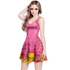 Patterned Pig Reversible Sleeveless Dresses