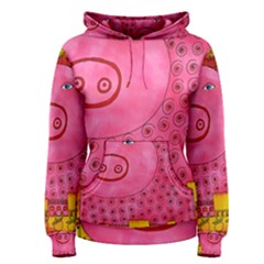 Patterned Pig Women s Pullover Hoodies
