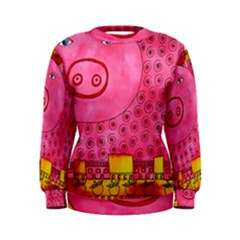 Patterned Pig Women s Sweatshirts