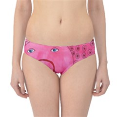 Patterned Pig Hipster Bikini Bottoms