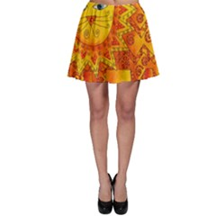 Patterned Lion Skater Skirts