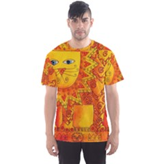 Patterned Lion Men s Sport Mesh Tees