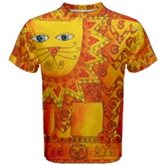 Patterned Lion Men s Cotton Tees