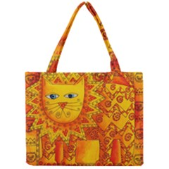 Patterned Lion Tiny Tote Bags