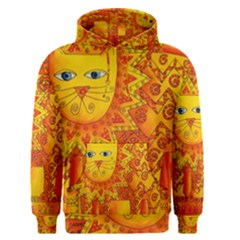 Patterned Lion Men s Pullover Hoodies