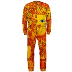 Patterned Lion Onepiece Jumpsuit (men)