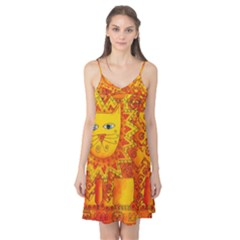 Patterned Lion Camis Nightgown