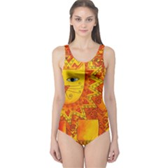 Patterned Lion Women s One Piece Swimsuits