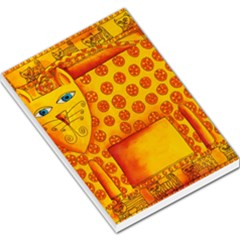 Patterned Leopard Large Memo Pads