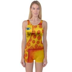 Patterned Leopard Women s Boyleg One Piece Swimsuits