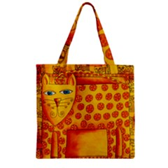Patterned Leopard Zipper Grocery Tote Bags