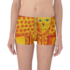Patterned Leopard Boyleg Bikini Bottoms