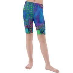 Patterned Hippo Kid s swimwear