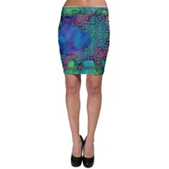 Patterned Hippo Bodycon Skirts
