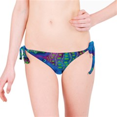 Patterned Hippo Bikini Bottoms