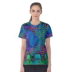 Patterned Hippo Women s Cotton Tees
