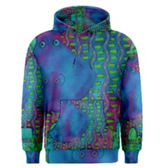 Patterned Hippo Men s Pullover Hoodies