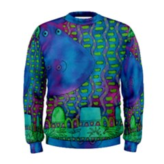 Patterned Hippo Men s Sweatshirts