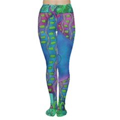 Patterned Hippo Women s Tights