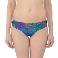 Patterned Hippo Hipster Bikini Bottoms