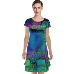 Patterned Hippo Cap Sleeve Nightdresses
