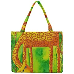 Patterned Giraffe  Tiny Tote Bags
