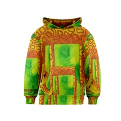 Patterned Giraffe  Kid s Pullover Hoodies