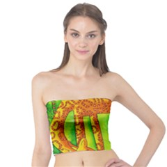 Patterned Giraffe  Women s Tube Tops