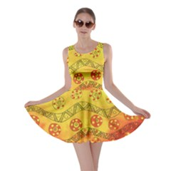Patterned Fish Skater Dresses