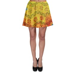 Patterned Fish Skater Skirts