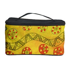 Patterned Fish Cosmetic Storage Cases