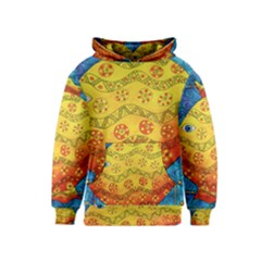 Patterned Fish Kid s Pullover Hoodies