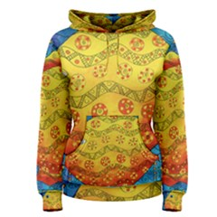 Patterned Fish Women s Pullover Hoodies