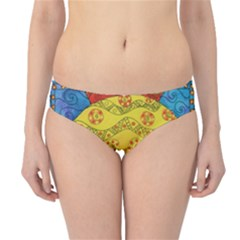 Patterned Fish Hipster Bikini Bottoms