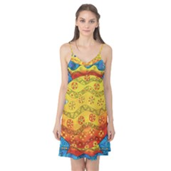 Patterned Fish Camis Nightgown