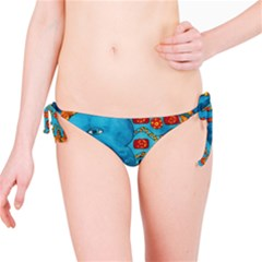 Patterned Elephant Bikini Bottoms