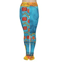 Patterned Elephant Women s Tights