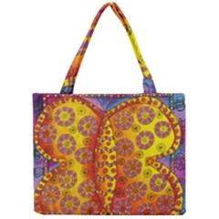 Patterned Butterfly Tiny Tote Bags