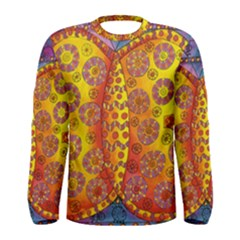 Patterned Butterfly Men s Long Sleeve T-shirts