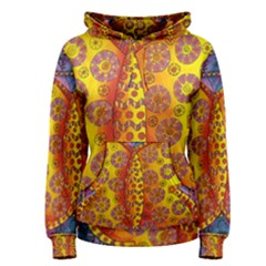 Patterned Butterfly Women s Pullover Hoodies