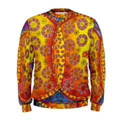 Patterned Butterfly Men s Sweatshirts