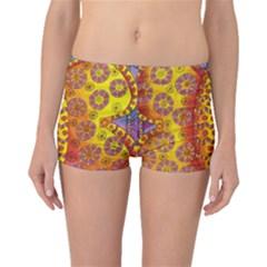 Patterned Butterfly Boyleg Bikini Bottoms
