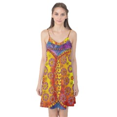 Patterned Butterfly Camis Nightgown